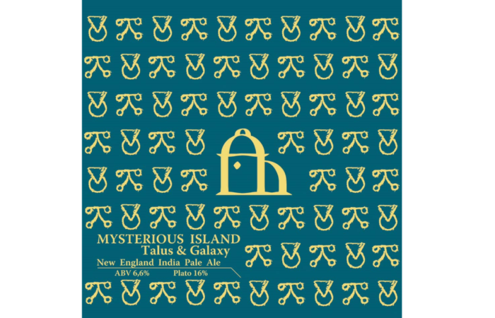Mysterious Island Talus & Galaxy New England India Pale Ale — 6.6% ABV / 16 P